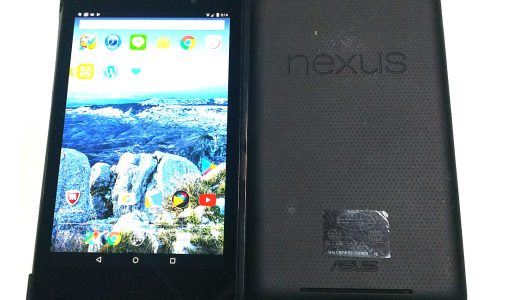 Nexus7(2012・2013)Androidタブレットの買い替え検討中