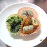 時短が一番自分弁当②ブロッコリーとカニ缶の中華風炒め煮