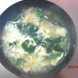 みそ汁を食べよう⑦かき菜・豆腐・卵