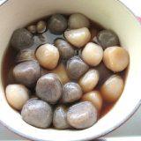 ルクルーゼの鍋でこんにゃく玉を似てみる・ダイエット12日目記録(6月16日)